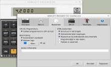 HP-15C Linux Preferences