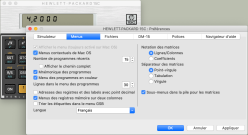 HP-15C macOS Preferences